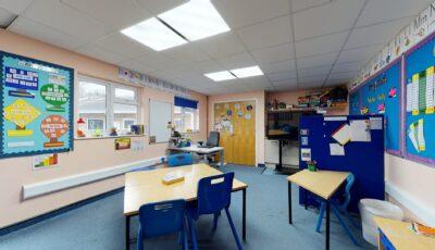 Baston House School – Primary Unit 3D Model