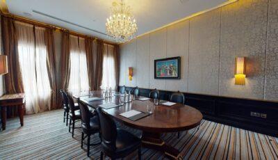 The Alan Quigley Room – Boardroom Meeting 3D Model