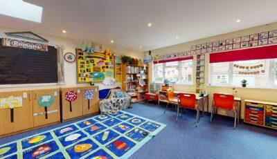Knossington Grange Courtyard Classrooms 3D Model