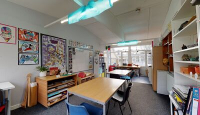 The Greater Horseshoe School 3D Model