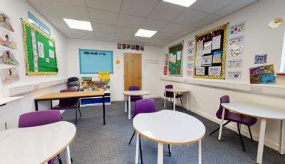 Jubilee School – Courtyard Classrooms 3D Model