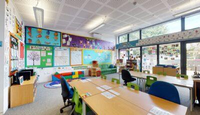 Heath Farm School – Classroom 1 & 2 3D Model