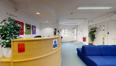 Heath Farm School – Reception Building 3D Model