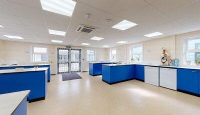Baston House School – Science, Careers & Technology 3D Model