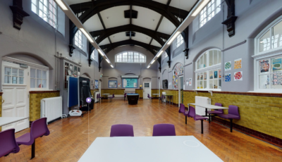 Reddish Hall – Lewis Building 3D Model